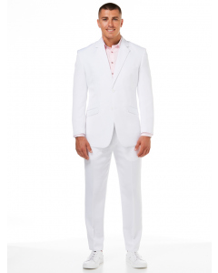 Ambassador White Two Piece Suit
