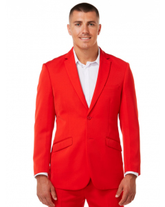 Ambassador 2 Button Red Jacket