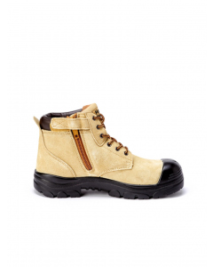 Hard Yakka Gravel Side Zip Boots Sand
