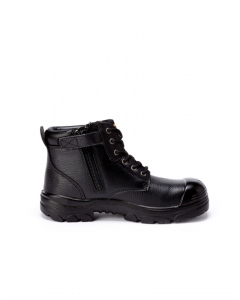 Hard Yakka Gravel Side Zip Boot Black