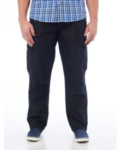 Traders Regular Fit Microfibre Cargo Black | Traders | Pants | Lowes