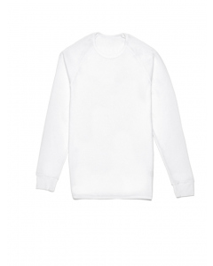 Traders White Waffle Knit Thermal T-Shirt
