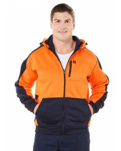 Traders Hi Vis Jacket Orange & Navy | Traders | Winter Wear | Lowes
