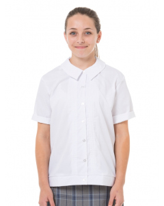 S/S White Overblouse