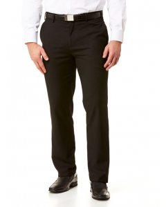 Lowes Tailored Fit Black Trousers