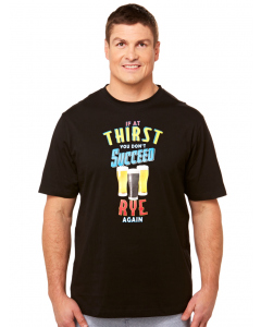 Lowes If At Thirst Crew Neck T-shirt