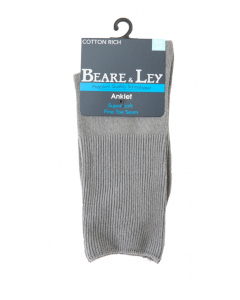 Delight Grey Ankle Socks