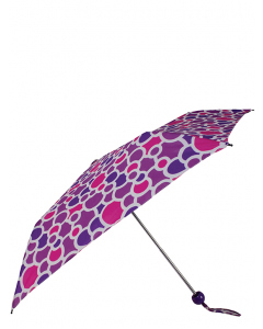 Shelta Auto Open & Close Circles Compact Umbrella