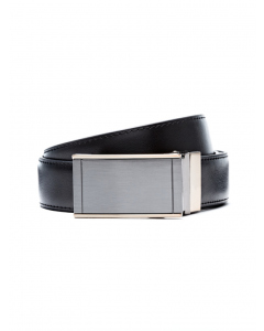 Traders Brown & Black Leather Reversible Belt