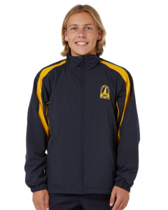 Navy/Gold Jacket With Embroidery