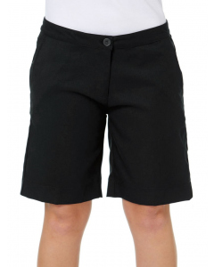 Black Ladies Tailored Short