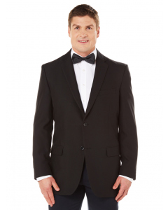 Robert Huntley Classic Jet Black Suit Jacket