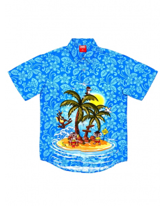 Lowes Kids Australia Island Hawaiian Shirt