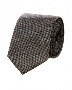 Perizzi Shadow Houndstooth Pattern Tie