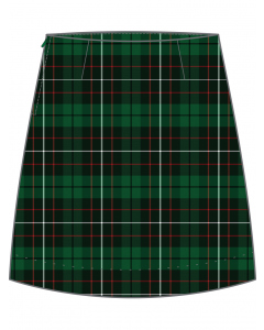 Green/White Check Skirt