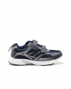 Lowes Navy Velcro Jogger | Lowes | Joggers | Lowes