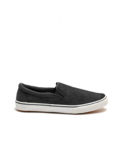 Human Eddie Canvas Black Slip on Shoes | Human | Casual Shoes | Lowes