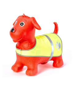Inflatable Red Dog Hopper