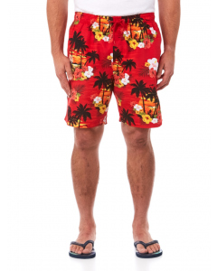 Lowes Red Islands Elastic Waist Printed Shorts | Lowes | Shorts | Lowes