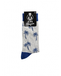 Novelty Palm Tree Business Socks | King Penguin | Business Socks | Lowes