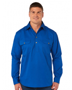 Traders Country Shirt Blue