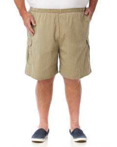Ruggers Beige Original Pigment Dyed Cargo Shorts | Ruggers | Shorts 117cm-147cm | Lowes