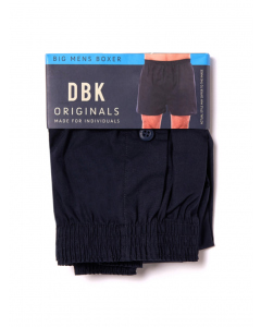 DBK Plain Navy Boxer Shorts