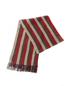 Cougars Red & Grey Rochelle Scarf