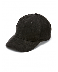 Cougars Black Corduroy Cap With Adjustable Strap | Cougars | Headwear | Lowes
