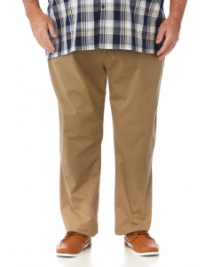 DBK Taupe Stretch Chino Trousers | DBK | Pants 117cm-147cm | Lowes