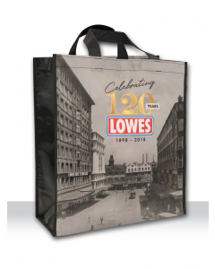 Lowes 120 Year Shopping Bag | Lowes | Bags | Lowes