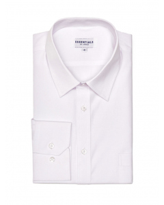 Lowes Essentials White Long Sleeve Business Shirt | Lowes | Shirts | Lowes