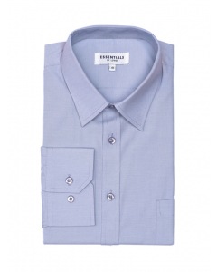 Lowes Essentials Blue Long Sleeve Business Shirt | Lowes | Shirts | Lowes