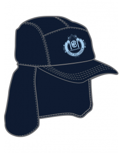 Navy Legionaire With Embroidery