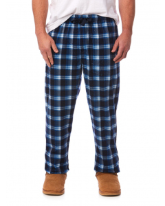 Traders Blue Check Stretch Lounge Pants | Traders | Winter Sleepwear | Lowes