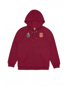 QLD Maroons Mens State of Origin Jacket with Hood | Supporter | Jackets & Hoodies | Lowes