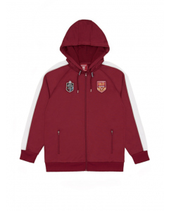 QLD Maroons Mens State of Origin Hooded Zip Jacket | Supporter | Jackets & Hoodies | Lowes