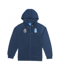 NSW Blues Mens State of Origin Zip thru Hoodie | Supporter | Jackets & Hoodies | Lowes