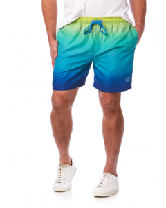 Riley Adams Blue Ombre Print Swim Shorts | Riley Adams | Swimwear | Lowes