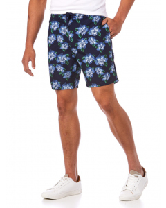 Lowes Navy Hibiscus Board Shorts | Lowes | Swim Shorts | Lowes