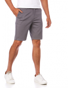 Traders Silver Slim Fit Stretch Fixed Waist Shorts | Traders | Shorts | Lowes
