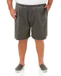 Ruggers Pigment Dyed Charcoal Shorts | Ruggers | Shorts 117cm-147cm | Lowes