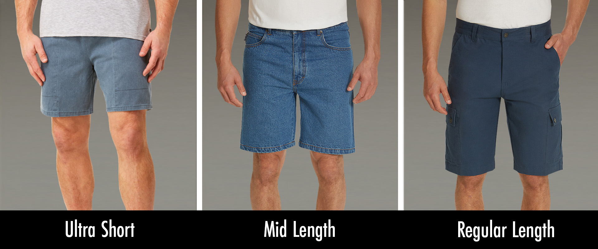 Shorts for men: How short is too short?