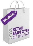 winners of the Retail Employer of the Year 2018